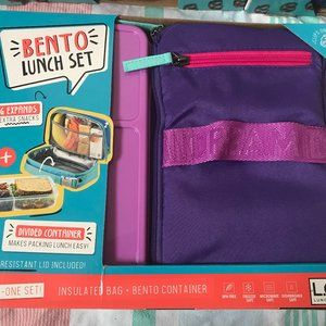 COPY - Bento lunch set, lunch box, lunch bag,